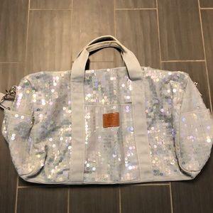 Like new large Pink duffel bag
